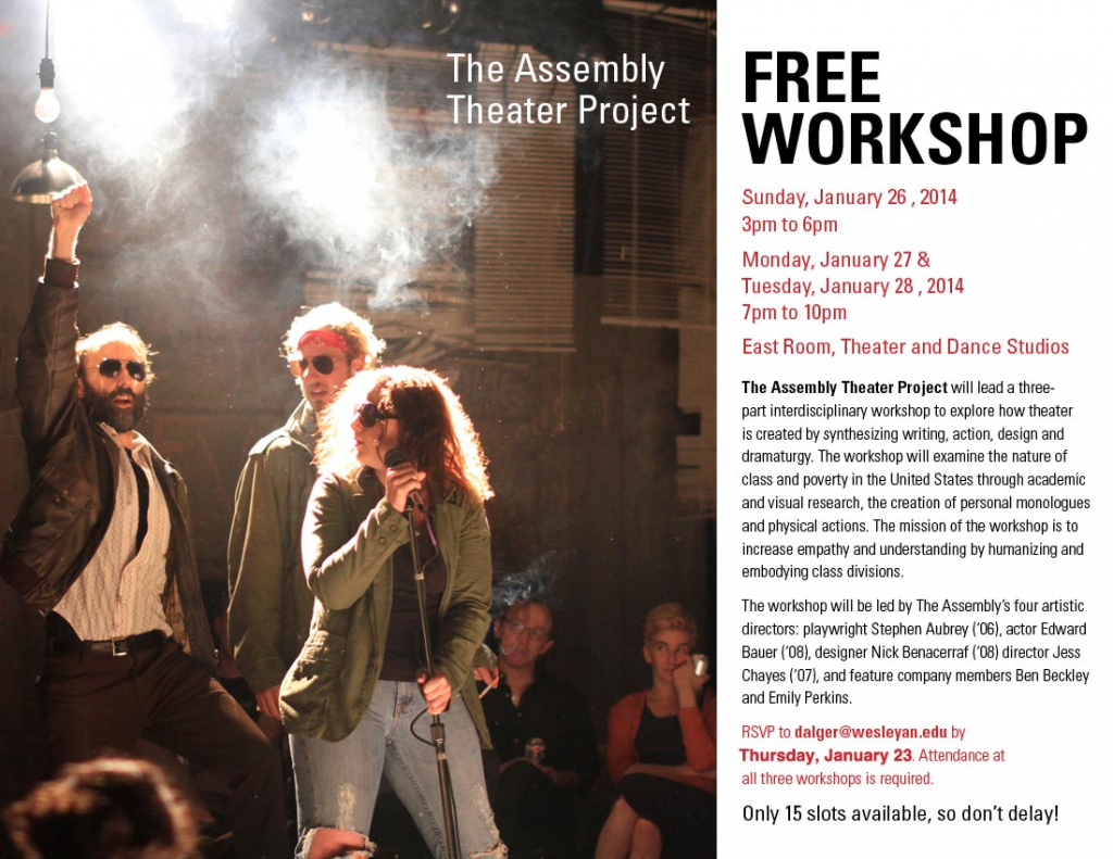 Poverty and Theater Workshop