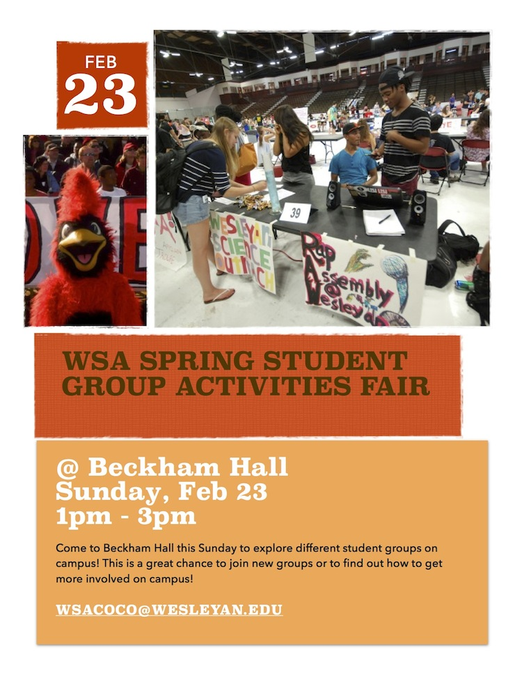 stu activities fair