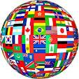 multi-flag globe