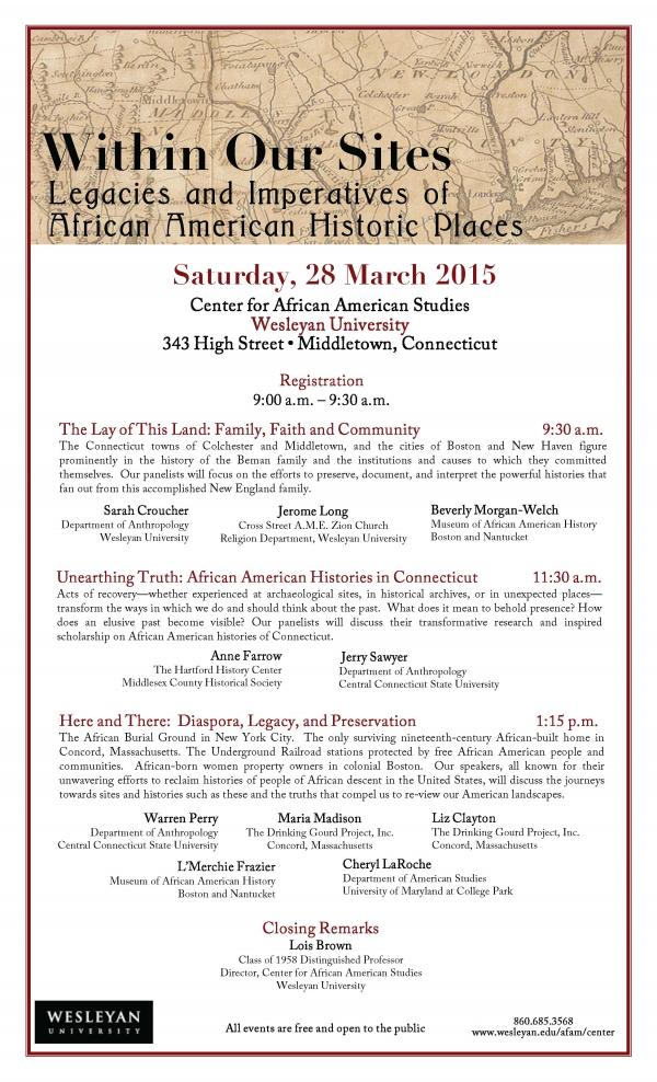 AFAM Symposium 3-27-15