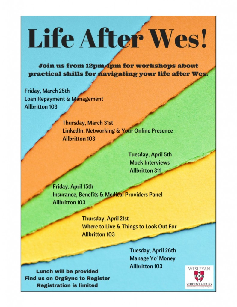 Life After Wes Poster