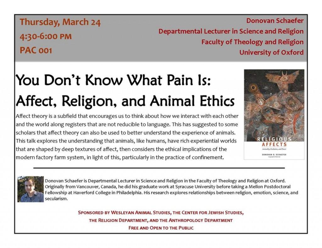 Religion & Science Lecture