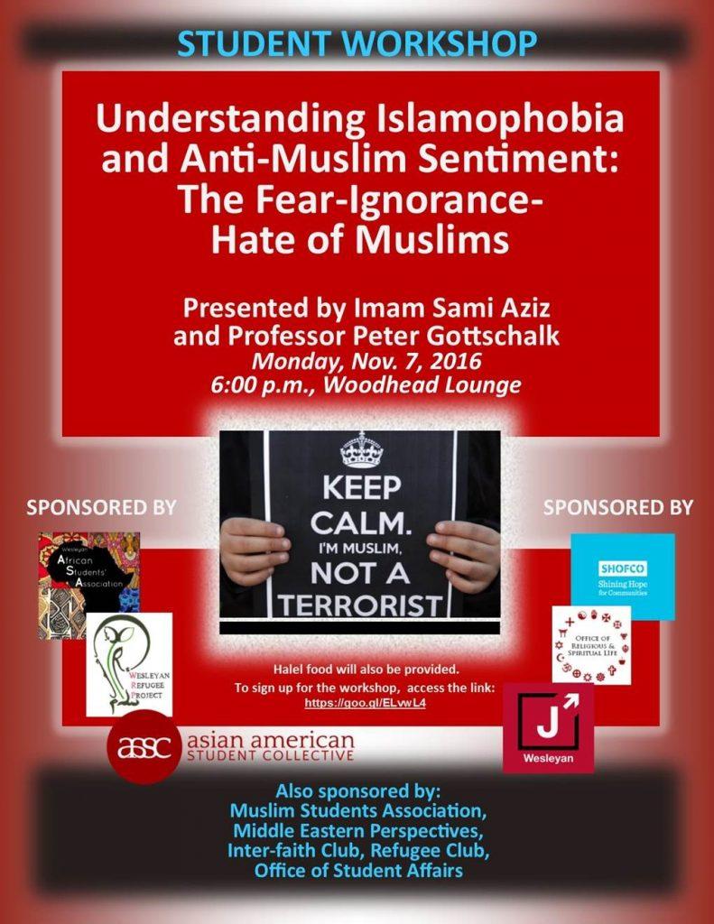Understanding Islamaphobia